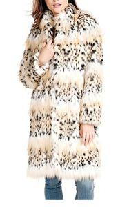 Bobcat Faux Fur Classic Stroller Coat